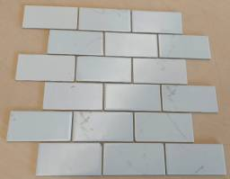 Título do anúncio: Pastilha de vidro 5x15 Alsaca BR 111 Segunda Linha