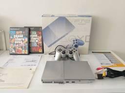 PlayStation 2 PS2 - Travado (Caixa com serial batendo)