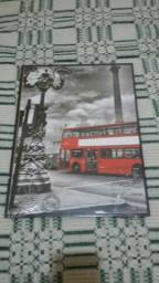 Quadro ônibus inglês Leia