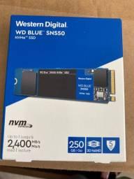 Ssd nvme sn550 de 250gb western digital