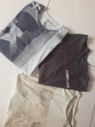 Camisetas de marca Original usada. Tam  M