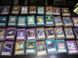 Lote de cartas 100 cartas de yugioh todas originais da konami