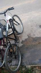 Bike usada roda 26 1.9 raio duplo nas duas rodas
