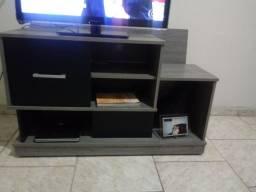 Rack excelente estado com painel para televisão