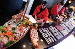 Na Barra Vaga sushiman salário 2mil + comissão