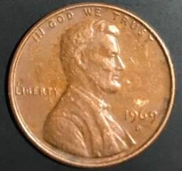 lote de moedas antigas canada/usa tudo por R$100,00