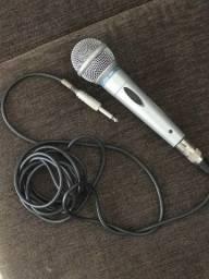 Microfone Leson VK e Suporte