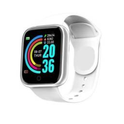 ?Smart watch relógio inteligente com medidor de batimento cardíaco e contador de passos???