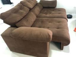 Sofá retrátil e reclinável 2,00