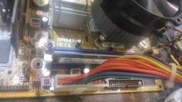 Placa mãe dd3 com 2 giga com placa de vídeo só fuciona com placa de vídeo