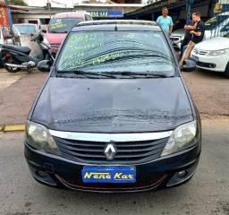 Título do anúncio: Vendo Renault Logan modelo Expression 1.6 - Completo mais GNV.
