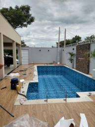 piscina em vinil