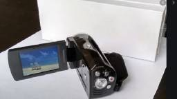 Filmadora e Camera Fotográfica
