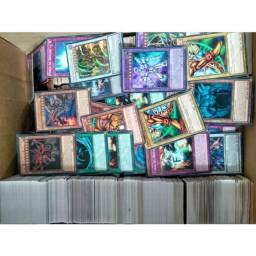 Lote com 150 cartas de yugioh originais da konami