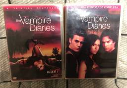 Dvds The Vampire Diaries e The Originais