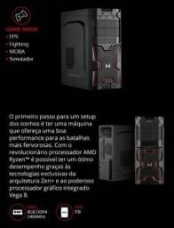 Desktop Gamer AMD Ryzen 3200G * NOVO NA CAIXA*GARANTIA 12 MES3S*