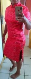 Vestido oriental comprado na china