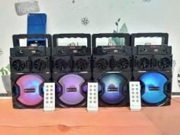Karaoke Portátil Wireless Bluetooth Speaker KTS 1121C