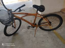 Bike quadro alumínio central comum aro aero