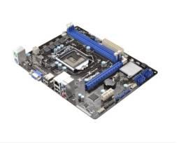 Placa Mae Asrock H61m-hg4 Ddr3 Lga1155 Chipset Intel H61
