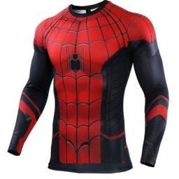 Camisa Homem Aranha -Impressão Digital 3 D