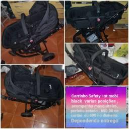 Carrinho safety 1st mobi black