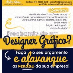 Design Gráfico - logo, cartão de visita, banner, redes sociais, etc