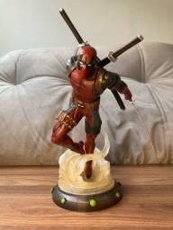 Estátua Boneco Deadpool 27cm
