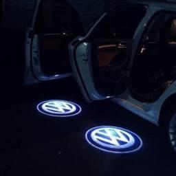 49cada porta projetor porta de carro luz a pilha TEM FIAT FORD