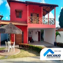 Excelente Casa - 264m², 4/4 sendo 3 Suítes + DCE - Massagueira