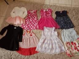 Lotinho vestidos TM 2 e 3