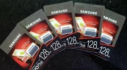 Cartão de memória Samsung Evo + Classe 10 Micro Sd  128 original