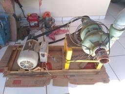 Bomba de água, com motor 5cv, zera
