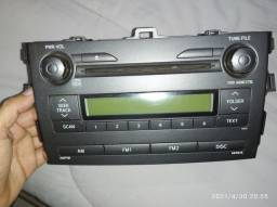Rádio original Corolla 2011