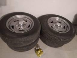 4 rodas Mangels 4x130 Aro R14