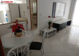 Apartamento 01 dormitório com sacada gourmet - Vila Tupi _ Praia Grande - SP