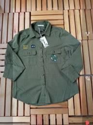 Blusão feminino militar