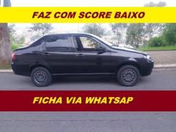 Financiamento com score baixo Fiat Siena completo fire palio