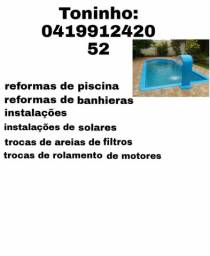 Fazemos reformas e instalações de banheiras