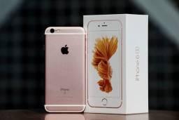Iphone 6s 128Gb Rosa Dourado, Original Lacrado/ Bateria 100% BRINDES película+capa