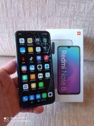 Xiaomi Redmi Note 8 128GB- Parcelo ate 12x no cartao - Aceito trocas