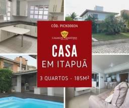 Título do anúncio: Casa no Condomínio Quatro Rodas com 3 quartos - Itapuã 500m²