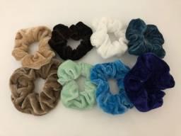 Kit 8 scrunchies