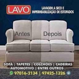 Limpeza de sofá higienização e impermeabilização de sofá é