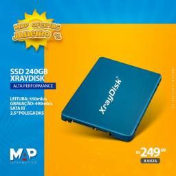Ssd 240gb XrayDisk / kingspec / KingDian (novos)