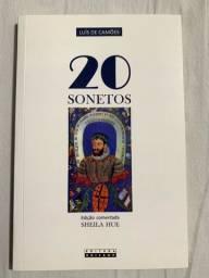 Livro 20 Sonetos de Luís de Camões