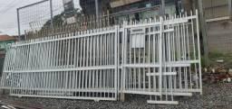 Cerca de alumínio com portão usados