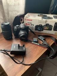 Câmera Canon Rebel T5 Premium Kit