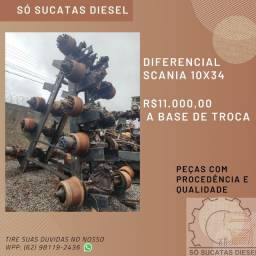 Diferencial Scania 10x34