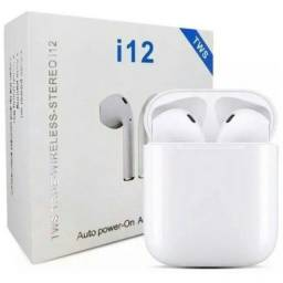 Fone Ouvido Bluetooth i12